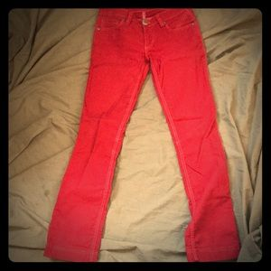 Antik Denim red pants